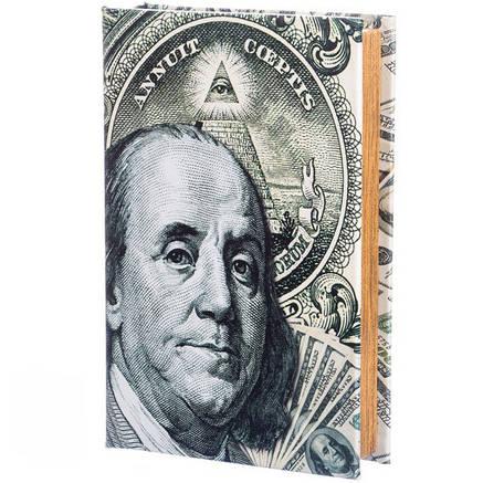 """Книга сейф """" Бенджамин Франклин """", фото 2"""