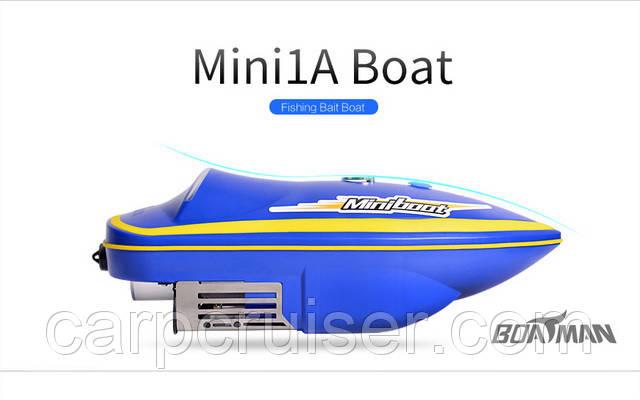 Прикормочный кораблик Boatman MINI 1A (уценка) радиоуправляемый для рыбалки прикормки