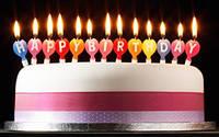 Свечи-буквы Happy Birthday, фото 1