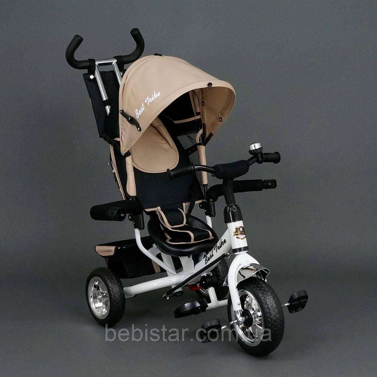 """Детский трехколесный велосипед """"Best Trike 6588"""" бежевый"""