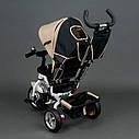 """Детский трехколесный велосипед """"Best Trike 6588"""" бежевый, фото 3"""