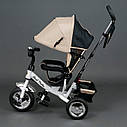 """Детский трехколесный велосипед """"Best Trike 6588"""" бежевый, фото 2"""