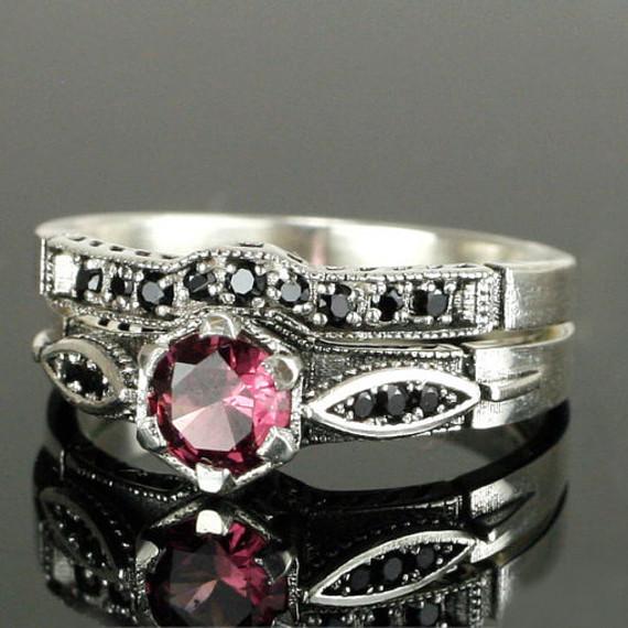 Обручальное и помолвочное кольцо (комплект) от WickerRing -  Интернет-магазин «WickerRing» 85446ce4b20