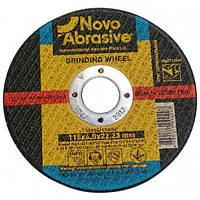Круг зачистной (диск шлифовальный) 115 х 6.0 х 22.23 мм  NOVOABRASIVE 1 14А по металлу 10 шт/уп