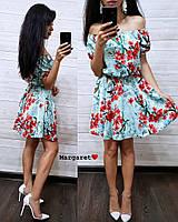Платье в цветочный принт Эрика, фото 1