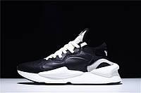 Кроссовки женские Adidas Y-3 Kaiwa Chunky Sneakers Yohji Yamamoto Black BC0908