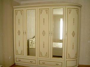 Мебель для спальни из массива дерева  Афродита с декором РКБ-Мебель , цвет на выбор, фото 2