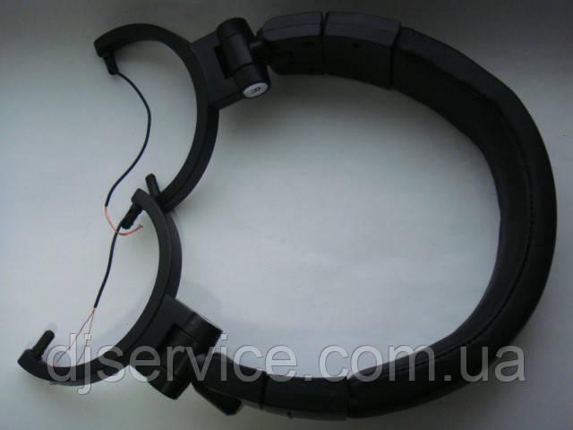 Оголовье (корпус неоригинал) черный всборе для наушников Audio-Technica m50