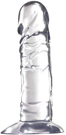 Гелевый фаллоимитатор Jelly Joy Radiant, прозрачный, фото 2