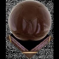 Шоколадна фігурка Солодкий Світ Мячик футбольний преміум, (в упаковці 10шт по 5г)