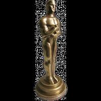 Шоколадна фігурка Солодкий Світ Оскар 180г чорн.