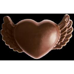 Шоколадна фігурка Солодкий Світ 45г Валентинка молочний шок.
