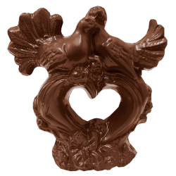 Шоколадна фігурка Солодкий Світ 160г Ніжність молочний шок.
