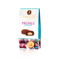 Цукерки Shoude 100г Summer Gifts Чорнослив крем-молоко в шоколаді