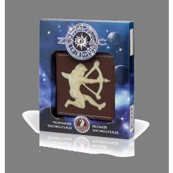 Шоколад Shoude 80г Zodiac стрілець