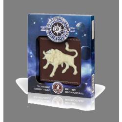 Шоколад Shoude 80г Zodiac телець