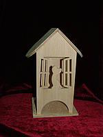 Коробка для хранения чайных пакетиков открытое окно с кошкой (10 х 10 х 23 см)