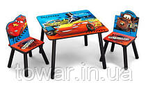Детский набор стол и два кресла DISNEY CARS
