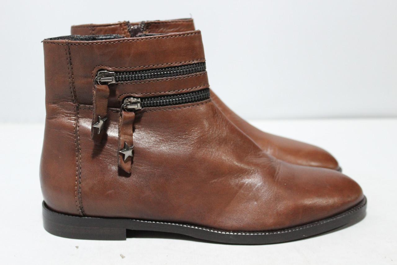 Женские кожаные ботинки Minelli, 37р.
