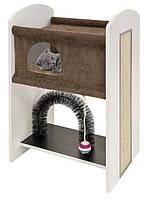 Ferplast Leo ігровий комплекс для кішок з когтеточку ( висота 84 см )