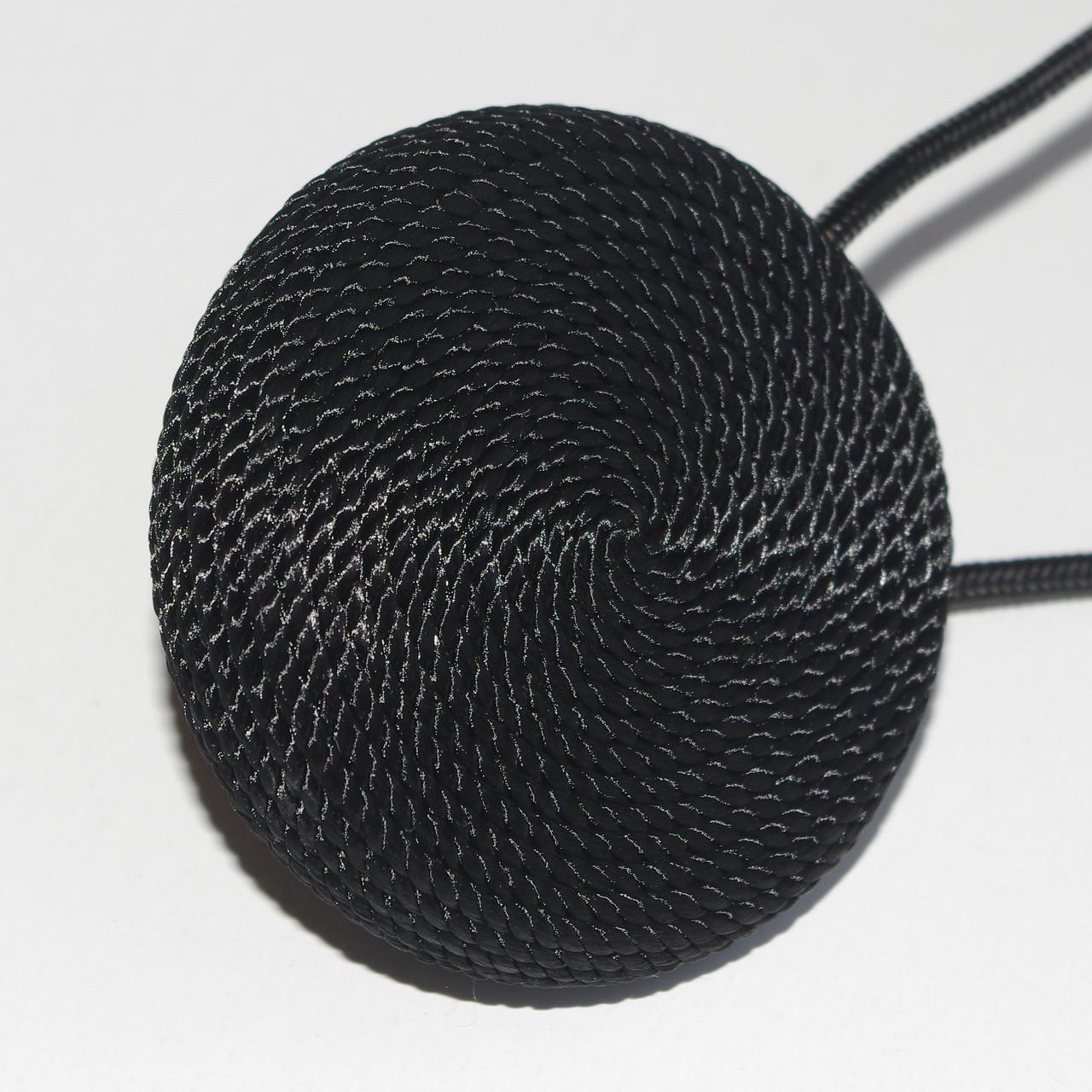 Магнит-подхват для штор и тюлей плетенный Ш002