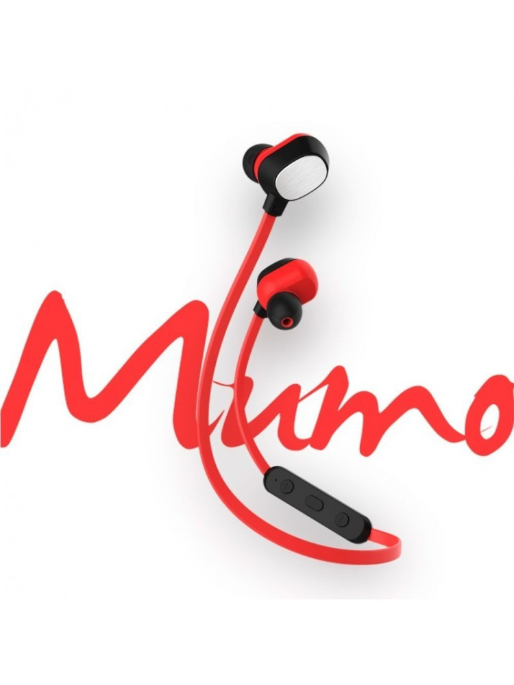 Наушники Rock BT Mumo Bluetooth Earphone  Красный