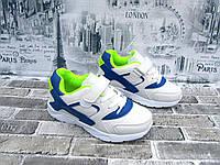Детские белые кроссовки Tom.m  экокожа  31-36 р