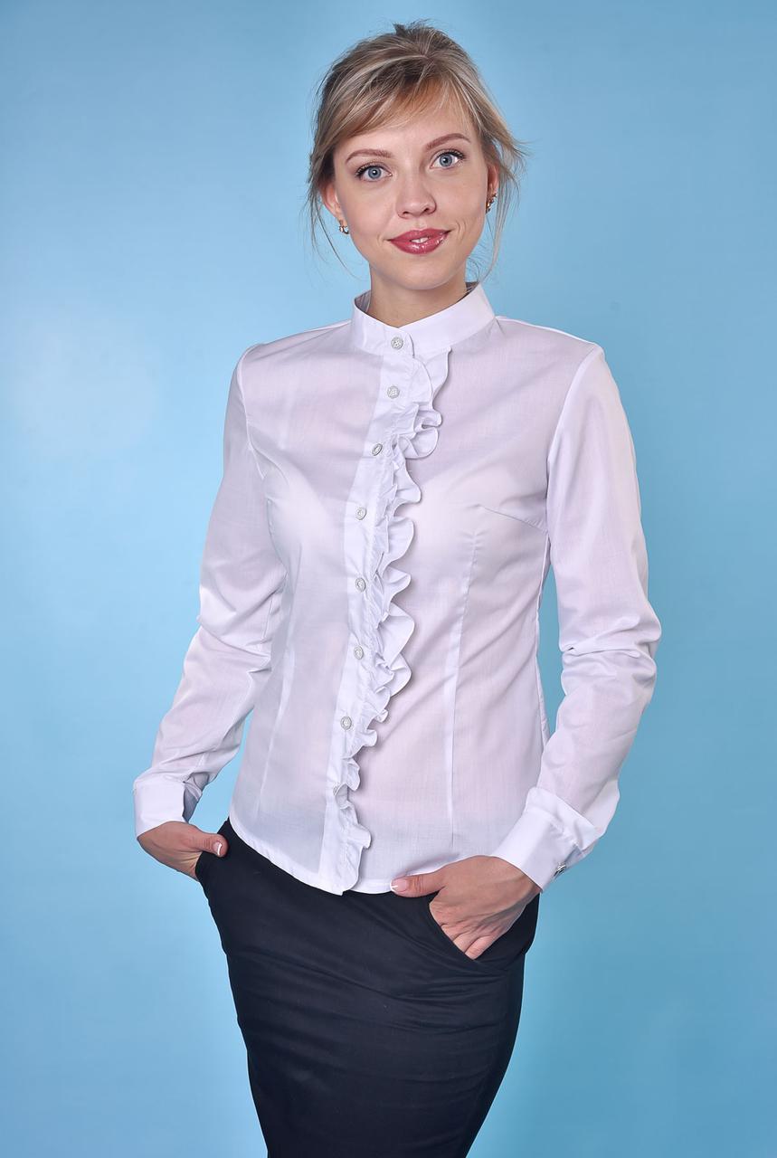Блузка белая Верона