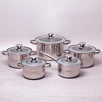 Набор индукционной посуды 10 пр.Kamille 4506S
