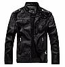 Мужская демисезонная кожаная куртка. Арт..Б8899