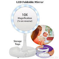 Зеркало круглое с подсветкой My FoldAway Mirror