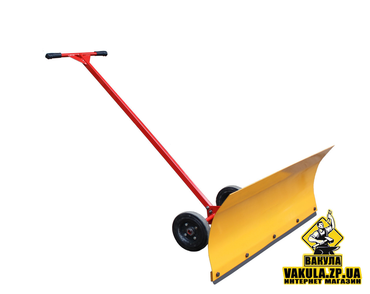 Лопата отвал для чистки снега сообственного производства