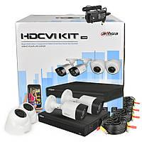 Комплект видеонаблюдения Dahua KIT-CV4FHD-2B/2D