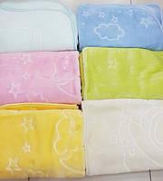 Детский плед одеяло Велюр двухсторонний 100х130см. Турция.