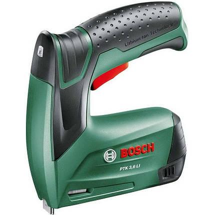 Аккумуляторный степлер Bosch PTK 3,6 Li (0603968120), фото 2