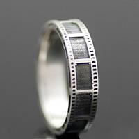"""Серебряное кольцо """"Film Strip"""" от WickerRing"""