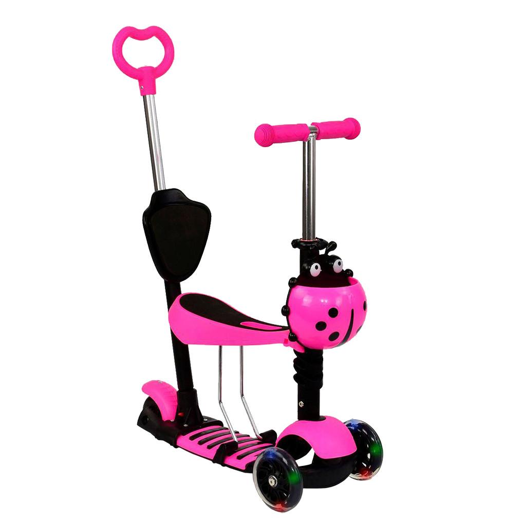 Самокат Best Scooter А 24674 - 3010 Розовый Mini 65268