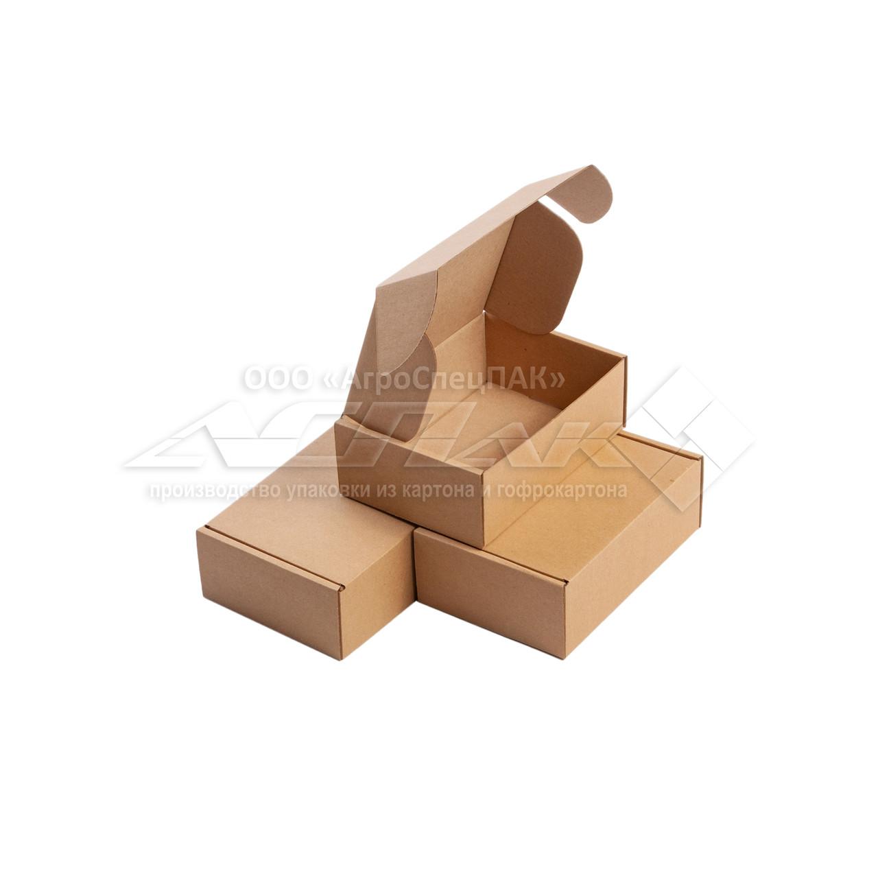 Коробки картонные 155*110*55 бурые