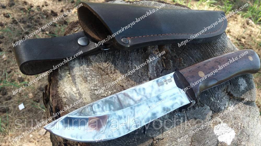 Нож нескладной из фиксированным клинком Медведь Охотничий