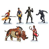 Набір фігурок Дісней чорна пантера Black Panther Figure Set Disney, фото 1