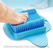 Щетка на присосках для ног Slip Proof Foot Brush, Качество