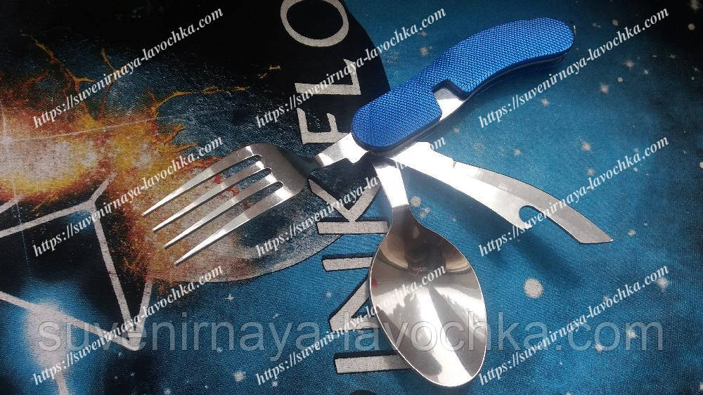 Мультитул нож ложка вилка 5008
