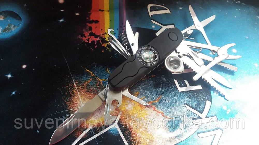 Многофункциональный нож Тотем К5017BL на подарок мужчине