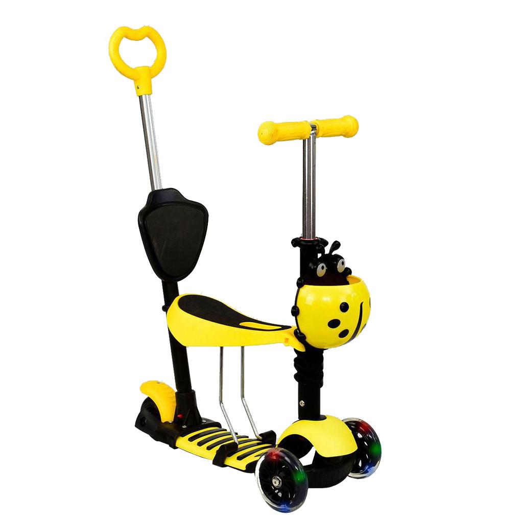 Самокат Best Scooter А 24675 - 3020 Желтый Mini 65270