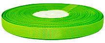 Репсовая лента фисташковая 0,6 см х 25 ярдов