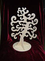 Дерево на подставке, декор