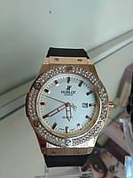 Часы Hublot  реплика (черные, золото)