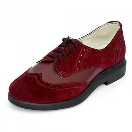 Туфли замшевые 7938, фото 2
