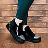 Кроссовки замшевые на платформе 7150, фото 2