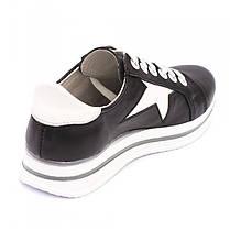 Кроссовки черные со звездами 8040, фото 2